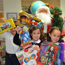 toy drive-homeless engagement lift partnership